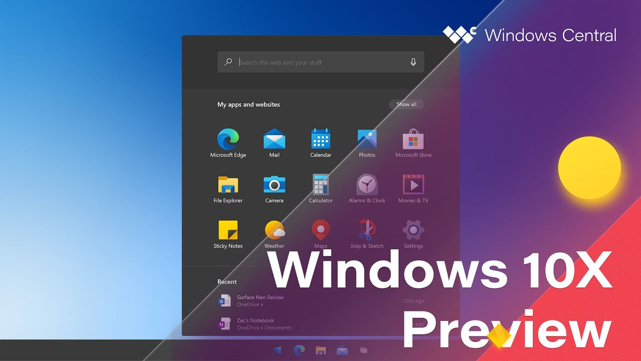 Windows 10X: Everything we know about Windows 10X
